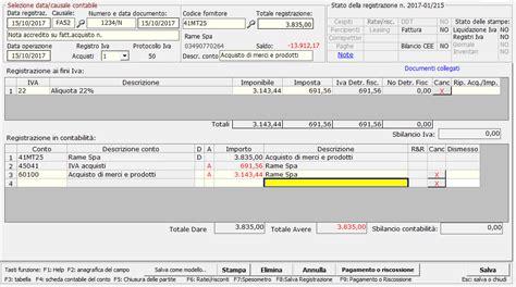 credito della caso pratico fattura di acquisto e nota di credito