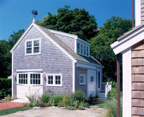 new house nantucket ma traditional garage and shed
