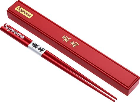 www supreme streetwear brand supreme features chopsticks for their new