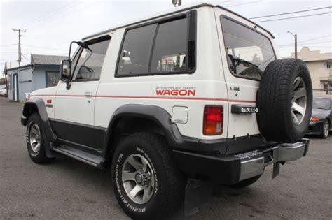 mitsubishi pajero montero 1989 turbo diesel manual