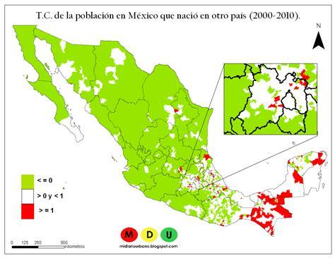 esinciclopedia de poblacion de mexico mi diario urbano crecimiento poblacional en m 233 xico 2000