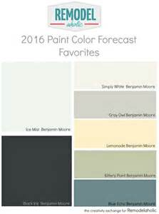 best color swatches of 2016 remodelaholic trends in paint colors for 2016
