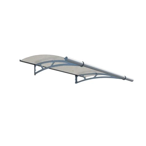 clear awnings for home palram aquila 2050 extra clear awning 703792 the home depot