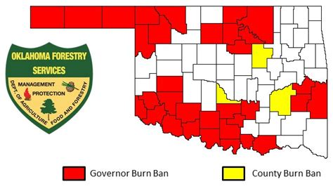 texas county burn ban map oklahoma farm report comes burn bans go here are the maps
