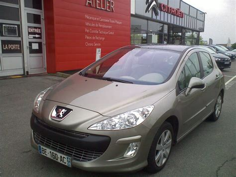 car make peugeot peugeot 308 11 2010 beige lieu