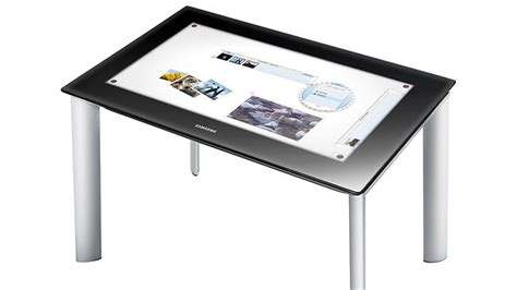 Surface Table by Samsung Overturns Regular Computer Design With The