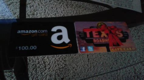Texas Road House Gift Card - texas roadhouse and amazon gift cards by mylesterlucky7 on deviantart
