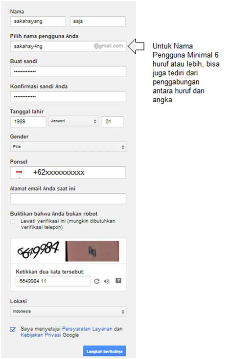 membuat web gmail cara mendaftar atau membuat akun gmail baru dengan mudah