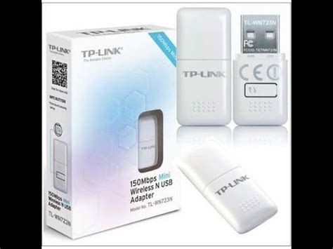 Usb Wifi Tp Link Wn723n tp link tl wn723n 150mbps mini wireless usb adapter unboxing