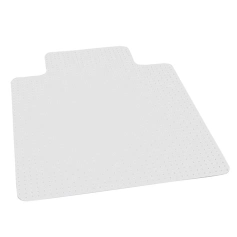 Clear Chair Mats by Es Robbins Professional Clear 36 In X 48 In Carpet Vinyl