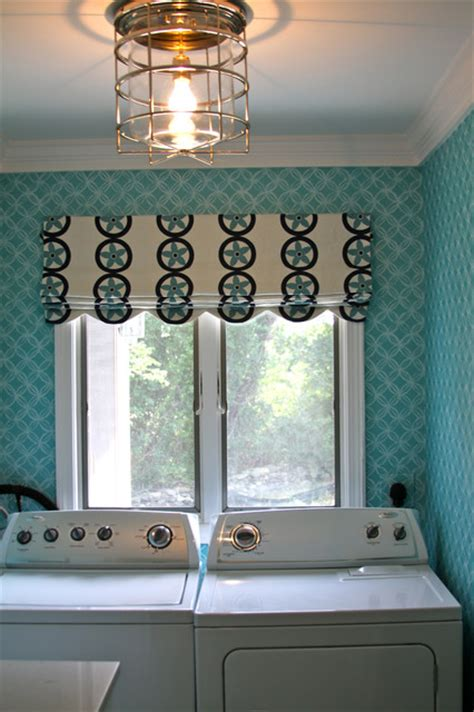 Laundry Room Light Fixture Summer Home In Compton Ri Style Laundry Room Providence By Lou Lou S Decor