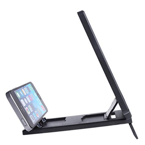 Pembesar Layar Screen Magnifier Bracket Stand 3d For Smartphone screen magnifier dizaul cell phone 3d hd lifier with foldable holder stand for