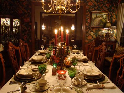 Dinner Table Decoration Frankenstein Suzy Q Better Decorating Bible Ideas How To Set The Table
