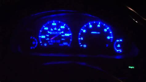 1999 subaru legacy led dash converted
