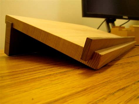wooden laptop stand  matchlessmade  etsy diy