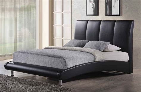leather headboard platform bed overnice leather platform and headboard bed chicago