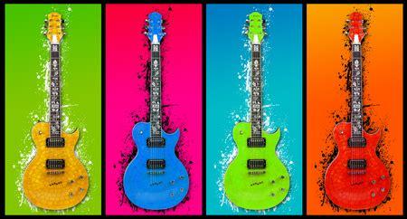 colorful guitar wallpaper what guitar you prefer more fashion