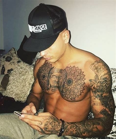 rember tattoo instagram remember that huge buddha tattoo love island s alex bowen