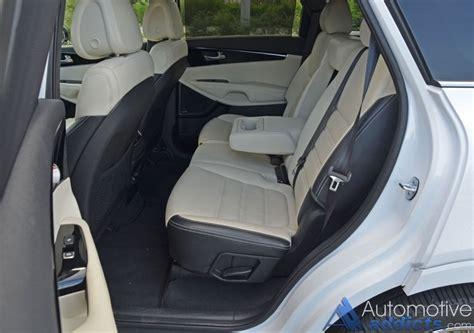 how many seats are in a kia sorento 2016 kia sorento sxl limited awd v6 review test drive
