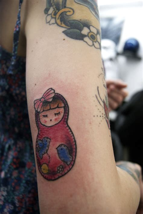 doll tattoo russian doll tattoos the official for things ink