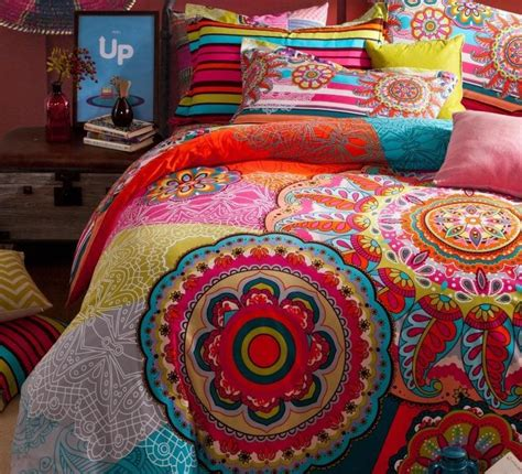 aliexpress com buy vintage colorful 100 cotton bedding