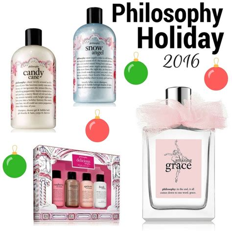 philosophy holiday 2016 gift sets and shower gels cosmetics