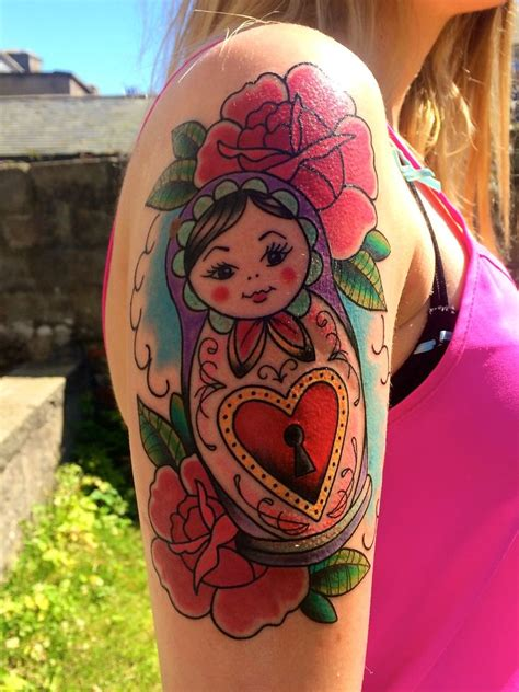 dolls tattoo 25 best ideas about russian doll on