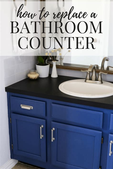 Replacing A Bathroom Countertop by How To Replace A Bathroom Countertop Renovations