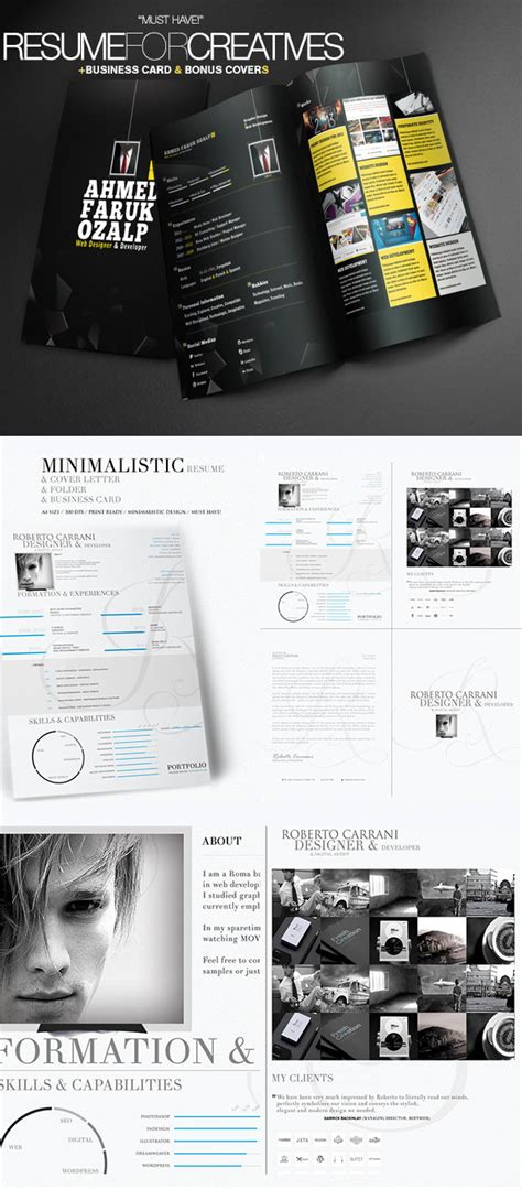 Resume Profile Samples by 25 Creative Resume Templates To Land A New Job In Style