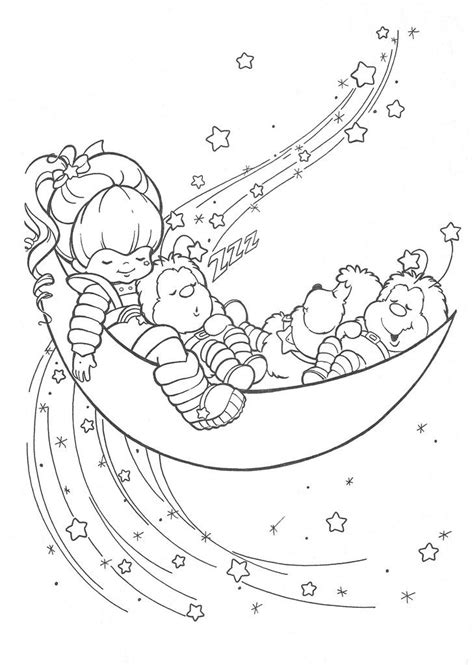 Rainbow Bright Coloring Pages Rainbow Brite Coloring Page Coloring Pages Pinterest by Rainbow Bright Coloring Pages