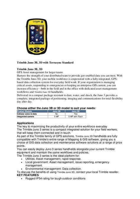 Gps Tracker Trimble Juno 3b 082119696710 jual gps trimble juno 3b 3d handheld