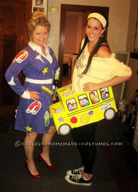 fun magic school bus  ms frizzle halloween costume