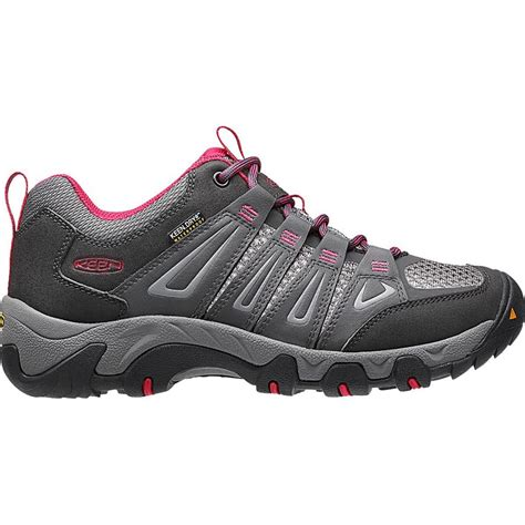 womens biking shoes keen oakridge waterproof hiking shoe s