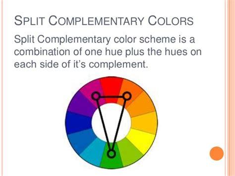 split complementary colors definition colorwheel colorscheme
