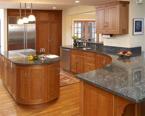countertop colors for light oak cabinets oak kitchen cabinet ideas decormagz pictures new color
