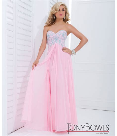light pink graduation dresses tony bowls 2014 prom dresses light pink w blue floral