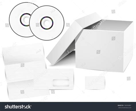 business card envelope template vector vector set of corporate identity templates cd box