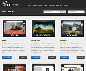 free wordpress themes fabthemes part 2 the 9 top places to download free wordpress themes