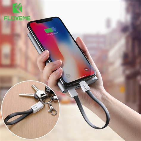 floveme otg phone cable for apple iphone x 8 7 6s 6 charger usb c cable for micro usb type c