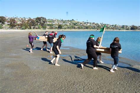boat building challenge cardboard boat building challenge hands on team building