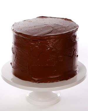 yellow butter cake  chocolate frosting
