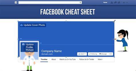 design home cheats facebook facebook image sizes cheat sheet 2017