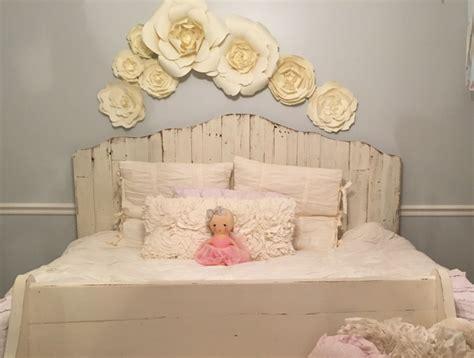 paper flower home decor  girls room decor