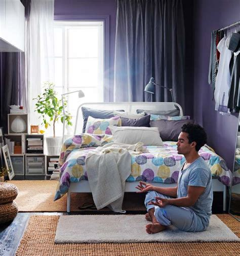 purple and white room ikea 2013 catalog