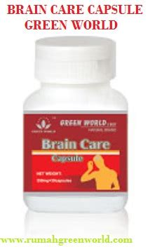 Green World Brain Care Capsule brain care capsule green world rumah green world