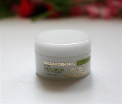 Goldfaden Md Detox Mask Review by Goldfaden Detox Clarify Clear Mask Review