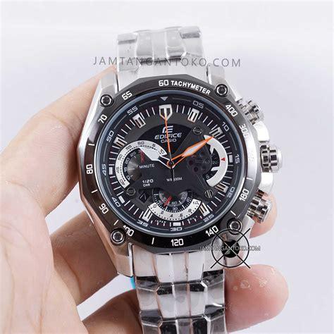 Jam Tangan Pria Merk Casio Edifice Ef 550 Chronograph Stainless Steel harga sarap jam tangan edifice ef 550d 1av sport