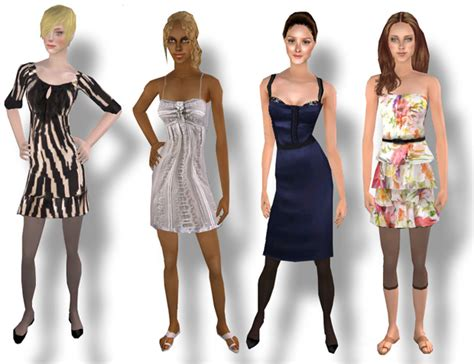 sims 2 clothing the sims resource mod the sims sp collection p 2 swim dress