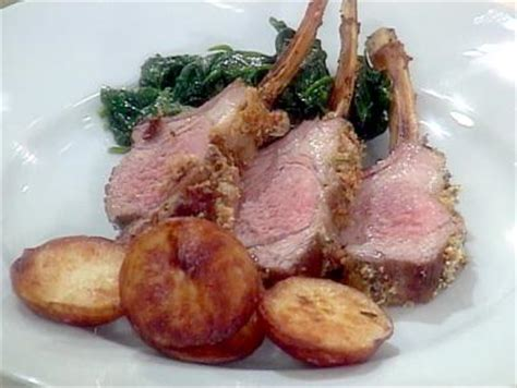 ina garten lamb rack of lamb recipe ina garten food network