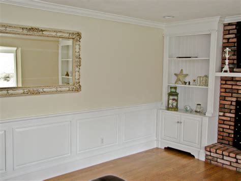 wainscoting in living room classic colonial raised panel wainscoting traditional